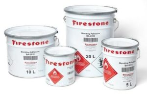 Bonding ba2012 Firestone EPDM Rubbercover colle Amaeva