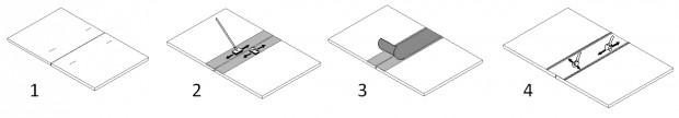 etapes assemblage membrane edpm amaeva