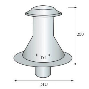 ventilair chapeau ventilation sortie de toiture vmc epdm firestone amaeva distribution
